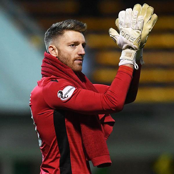 One Glove Academy Goalkeeper Mark Gillespie